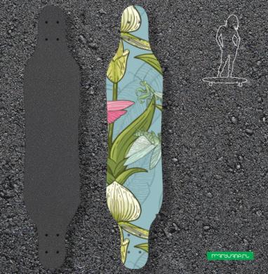 Флора и фауна - Наклейки на лонгборд