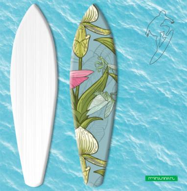 Флора и фауна - Наклейки на серф