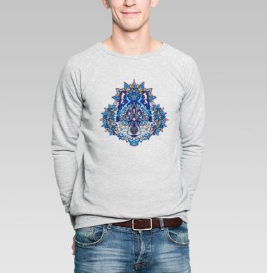 Северный зверь - Купить мужские свитшоты с волками в Москве, цена мужских свитшотов с волками  с прикольными принтами - магазин дизайнерской одежды MaryJane