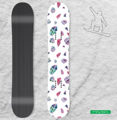 Кристальность - Наклейки на доски - сноуборд, скейтборд, лыжи, кайтсерфинг, вэйк, серф