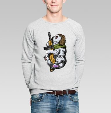 Победокот - Купить мужские свитшоты с оружием в Москве, цена мужских свитшотов с оружием  с прикольными принтами - магазин дизайнерской одежды MaryJane