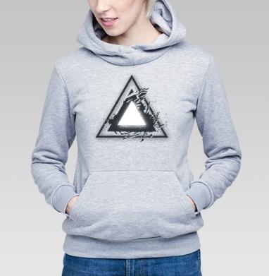 Треугольник света - Купить детские толстовки с геометрическим рисунком в Москве, цена детских  с геометрическим рисунком  с прикольными принтами - магазин дизайнерской одежды MaryJane