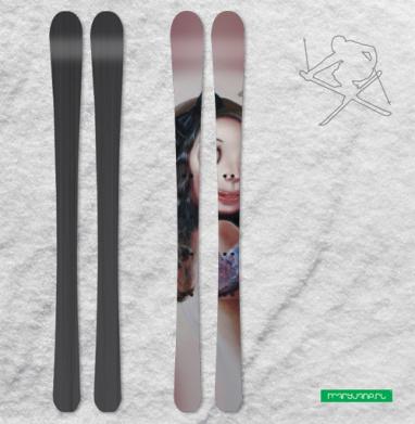 КАРМА ХАМЕЛЕОН - Наклейки на лыжи