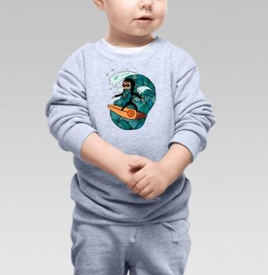 Сёрфер  - Свитшоты детские