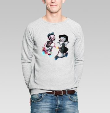 АНДЕД ХИПСТЕРЫ - Купить мужские свитшоты спортивные в Москве, цена мужских свитшотов спортивных  с прикольными принтами - магазин дизайнерской одежды MaryJane