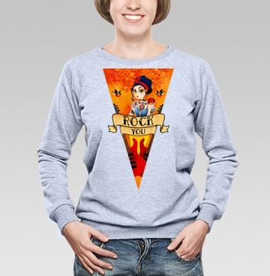 Рок принцесса - Купить детские свитшоты с индейцами в Москве, цена детских свитшотов с индейцами  с прикольными принтами - магазин дизайнерской одежды MaryJane