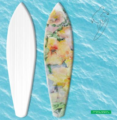 Мальва - Наклейки на серф