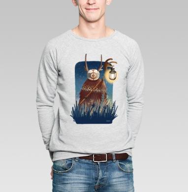 Дух полуночи - Купить мужские свитшоты с природой в Москве, цена мужских свитшотов с природой  с прикольными принтами - магазин дизайнерской одежды MaryJane