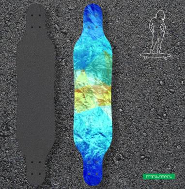 Айсберг - Наклейки на лонгборд