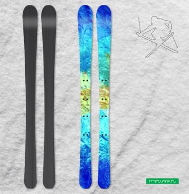 Айсберг - Наклейки на лыжи