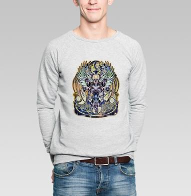 Темный - Купить мужские свитшоты с илюстрациями в Москве, цена мужских свитшотов с илюстрациями  с прикольными принтами - магазин дизайнерской одежды MaryJane
