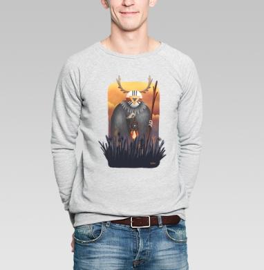 Дух заката - Купить мужские свитшоты с илюстрациями в Москве, цена мужских свитшотов с илюстрациями  с прикольными принтами - магазин дизайнерской одежды MaryJane