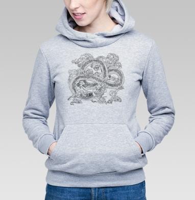 Голодный дракон - Купить женскую толстовку