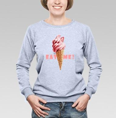 Мороженое - рожок - Купить детские свитшоты с мороженным в Москве, цена детских свитшотов с мороженным  с прикольными принтами - магазин дизайнерской одежды MaryJane