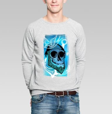 Море зовёт  - Купить мужские свитшоты с черепом в Москве, цена мужских  с черепом  с прикольными принтами - магазин дизайнерской одежды MaryJane