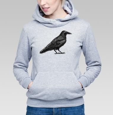 Чёрный ворон - Купить детские толстовки с птицами в Москве, цена детских толстовок с птицами  с прикольными принтами - магазин дизайнерской одежды MaryJane