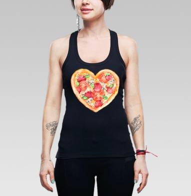 Пицца - это любовь - Купить мужские Майки-борцовки с приколами в Москве, цена мужских  с приколами  с прикольными принтами - магазин дизайнерской одежды MaryJane