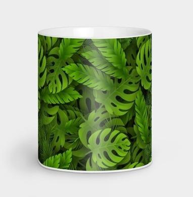 Зеленые тропические листья - природа, Новинки