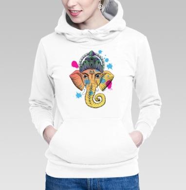 Самоделка ganesha_color.png - Купить женскую толстовку