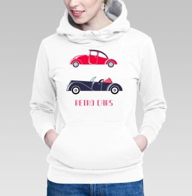 Retro cars - Толстовки на автомобильную тему