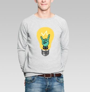 Бунт. - Купить мужские свитшоты с природой в Москве, цена мужских свитшотов с природой  с прикольными принтами - магазин дизайнерской одежды MaryJane