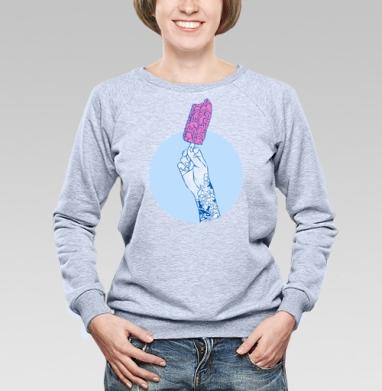 Мозги мороженое! ммм - Купить детские свитшоты с мороженным в Москве, цена детских свитшотов с мороженным  с прикольными принтами - магазин дизайнерской одежды MaryJane