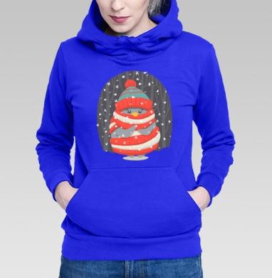 Пингвин в шарфе и шапке - Длинные женские толстовки женские в интернет-магазине