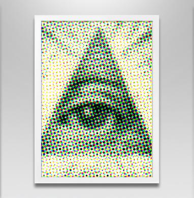 Большой брат - Постеры, лицо, Популярные