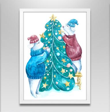 Роб, Лили и елка - Постеры, новый год, Популярные