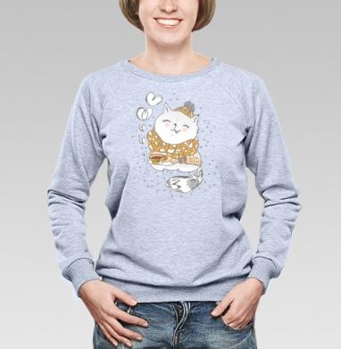 Кофейное настроение  - Купить детские свитшоты с любовью в Москве, цена детских свитшотов с любовью  с прикольными принтами - магазин дизайнерской одежды MaryJane
