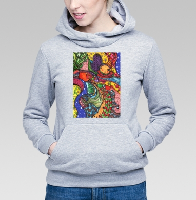 Волны зимы  - Купить детские толстовки с городами в Москве, цена детских толстовок с городами  с прикольными принтами - магазин дизайнерской одежды MaryJane