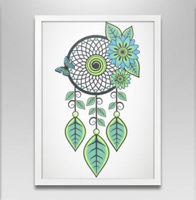 Цветочный Ловец - Постеры, этно, Популярные