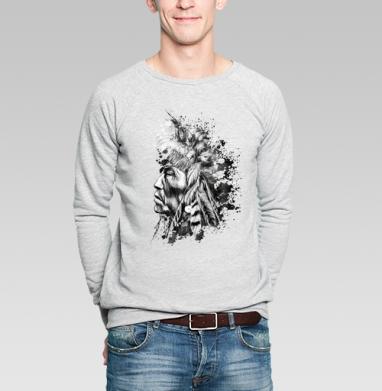 Индеец - Купить мужские свитшоты с индейцами в Москве, цена мужских  с индейцами  с прикольными принтами - магазин дизайнерской одежды MaryJane
