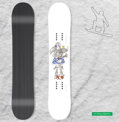 Ок, Золотая рыбка - Виниловые наклейки на сноуборд купить с доставкой. Воронеж