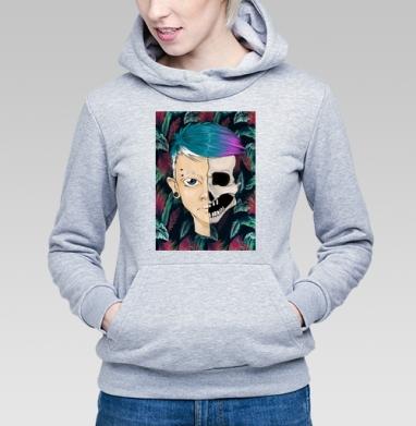 Череп - Купить детские толстовки с лицом в Москве, цена детских толстовок с лицом  с прикольными принтами - магазин дизайнерской одежды MaryJane