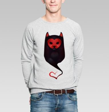 Валентайн - Купить мужские свитшоты с кошками в Москве, цена мужских  с кошками  с прикольными принтами - магазин дизайнерской одежды MaryJane