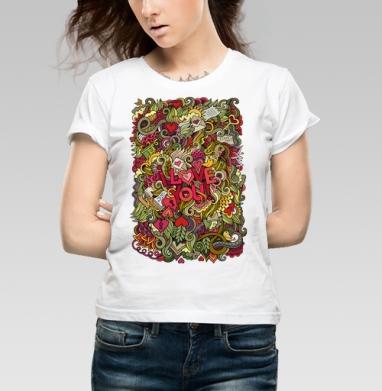 Дудло-Любовь - Купить детские футболки с символами в Москве, цена детских футболок с символом с прикольными принтами - магазин дизайнерской одежды MaryJane