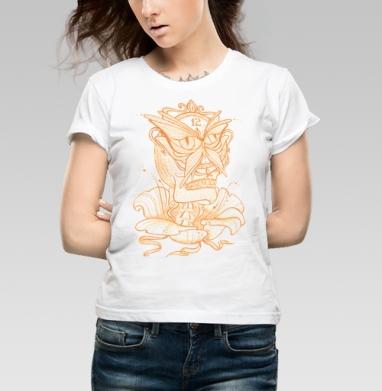 Сюрреалистичные часы  - Купить детские футболки с черепом в Москве, цена детских футболок с черепом  с прикольными принтами - магазин дизайнерской одежды MaryJane