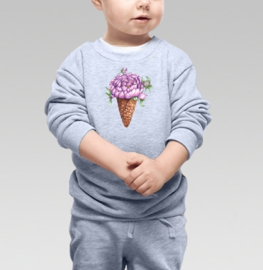 Волшебное мороженное для воздушной девушки - Свитшоты детские