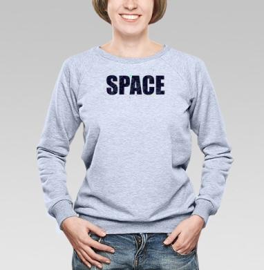 Космос говорит - Купить детские свитшоты с любовью в Москве, цена детских свитшотов с любовью  с прикольными принтами - магазин дизайнерской одежды MaryJane