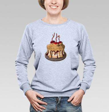 Яблочный пирог  - Купить детские свитшоты с фруктами в Москве, цена детских свитшотов с фруктами  с прикольными принтами - магазин дизайнерской одежды MaryJane