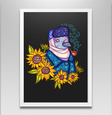 Гули в искусстве. винсент ван гог - Постеры, птицы, Популярные