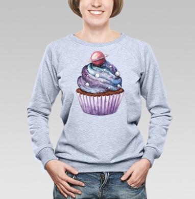 Космический десерт - Купить детские свитшоты с роботами в Москве, цена детских свитшотов с роботами с прикольными принтами - магазин дизайнерской одежды MaryJane