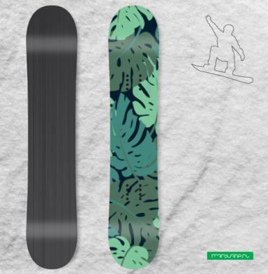 Суккулентики - Наклейки на доски - сноуборд, скейтборд, лыжи, кайтсерфинг, вэйк, серф