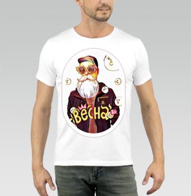 Весенний дед - Купить мужские футболки хипстерские в Москве, цена мужских футболок хипстерских  с прикольными принтами - магазин дизайнерской одежды MaryJane