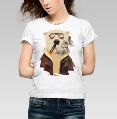 Bearrr - Купить детские футболки с дымом в Москве, цена детских футболок с дымом  с прикольными принтами - магазин дизайнерской одежды MaryJane
