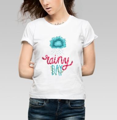 Rainy Day - Купить детские футболки с цитатами в Москве, цена детских футболок с цитатами  с прикольными принтами - магазин дизайнерской одежды MaryJane