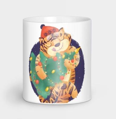 Новогодний Тигра, Кружка