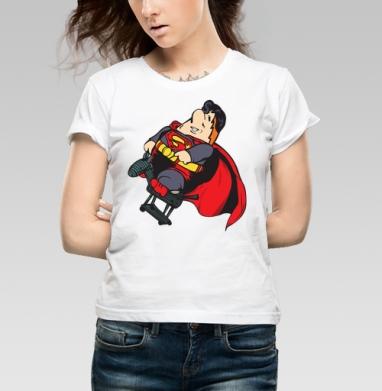 Super Karl - Купить детские футболки с Суперменом в Москве, цена детских  с Суперменом  с прикольными принтами - магазин дизайнерской одежды MaryJane
