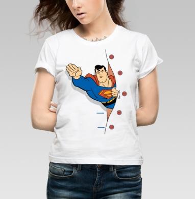 СуперМен - Купить детские футболки с Суперменом в Москве, цена детских  с Суперменом  с прикольными принтами - магазин дизайнерской одежды MaryJane